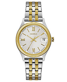 Caravelle Women's Two-Tone Stainless Steel Bracelet Watch 32mm