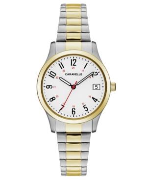 Designed by Bulova Women's Two-Tone Stainless Steel Bracelet Watch 30mm