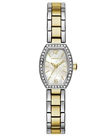 Women's Two-Tone Stainless Steel Bracelet Watch 18x24mm