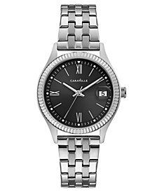 Caravelle Women's Stainless Steel Bracelet Watch 32mm