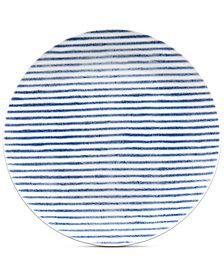 Noritake Hammock Coupe  Stripe Salad Plate, Created for Macy's