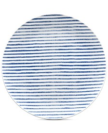 Noritake Hammock Coupe  Stripe Salad Plate, Created for Macy's
