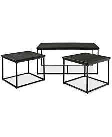 Litton 3-Pack Table Set, Quick Ship