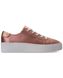 Tretorn Women's Blaire Satin Casual Sneakers from Finish Line