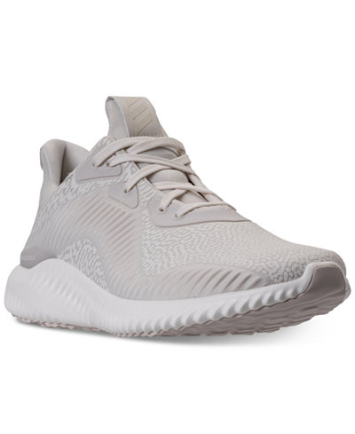 adidas Men's AlphaBounce EM HPC Running Sneakers from Finish Line