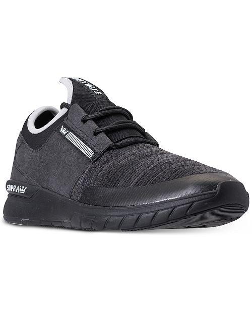 f202116deb6b SUPRA Men s Flow Run Casual Skate Sneakers from Finish Line ...
