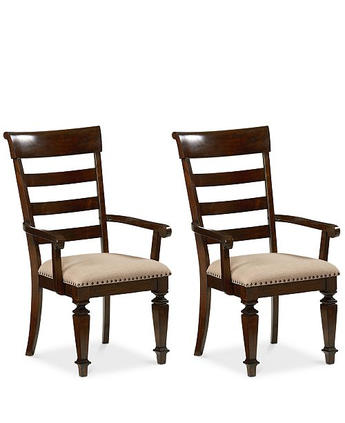 Furniture CLOSEOUT! Orlin Armchair (Set Of 2), Quick Ship