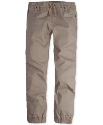 Image of Levi's® Twill Jogger Pants, Big Boys