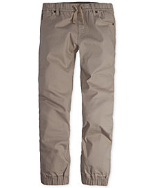 Levi's® Twill Jogger Pants, Big Boys