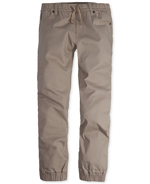 attractive price promo codes how to choose Levi's® Twill Jogger Pants, Big Boys
