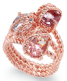 Charter Club Stone Trio Rope Ring, Created for Macy's