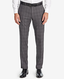 BOSS Men's Slim-Fit Glen Check Dress Pants