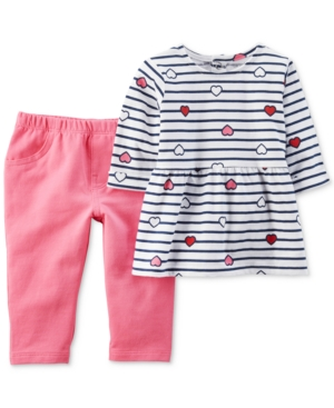 Carters 2Pc Tunic  Pants Set Baby Girls (024 months)