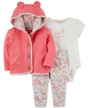 Carter's 3-Pc. Quilted...