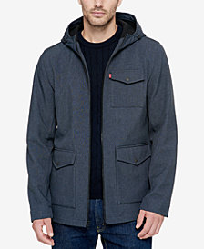 Levi's® Men's Soft-Shell Hooded Parka