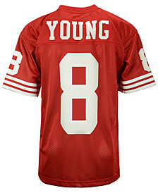 Mitchell & Ness Men's Steve Young San Francisco 49ers Authentic Football Jersey