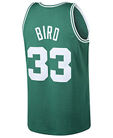 Mitchell & Ness Men's Larry Bird Boston Celtics Hardwood Classic Swingman Jersey