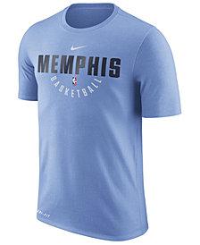 Nike Men's Memphis Grizzlies Dri-FIT Cotton Practice T-Shirt