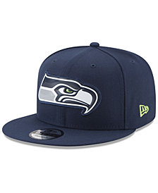 New Era Seattle Seahawks Bold Bevel 9FIFTY Snapback Cap