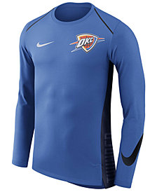 Nike Men's Oklahoma City Thunder Hyperlite Shooter Long Sleeve T-Shirt