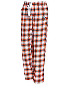 Concepts Sport Women's San Francisco Giants Forge Flannel Pants