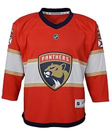 Florida Panthers Blank Replica Jersey, Big Boys (8-20)