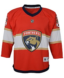 Authentic NHL Apparel Florida Panthers Blank Replica Jersey, Big Boys (8-20)