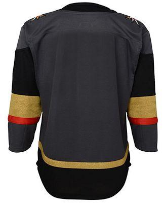 adidas Vegas Golden Knights Premier Blank Jersey, Big Boys (8-20)