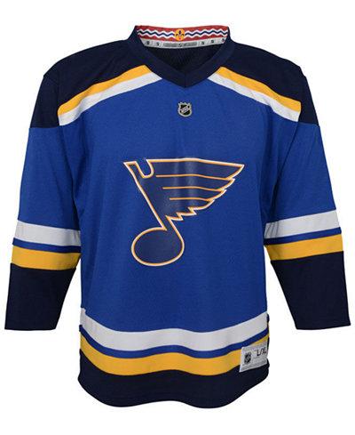 adidas St. Louis Blues Blank Replica Jersey, Infants (12-24 Months)