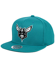 Mitchell & Ness Charlotte Hornets Team Snapback Cap