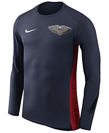 Nike Men's New Orleans Pelicans Hyperlite Shooter Long Sleeve T-Shirt