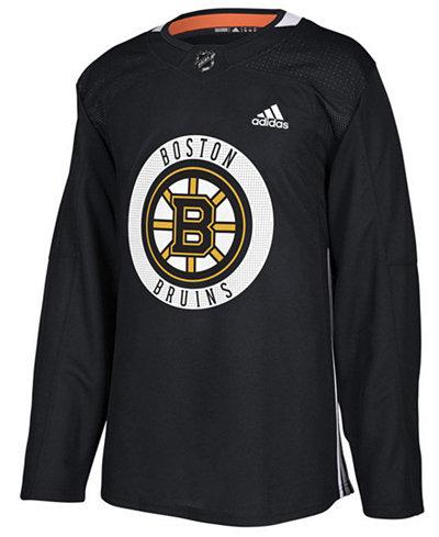 adidas Men's Boston Bruins Authentic Pro Practice Jersey