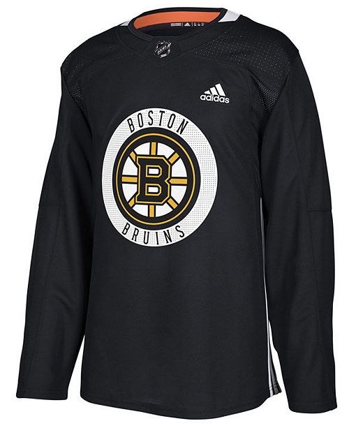 adidas Men s Boston Bruins Authentic Pro Practice Jersey - Sports ... 4f6137059