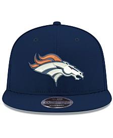 New Era Denver Broncos Team Color Basic 9FIFTY Snapback Cap
