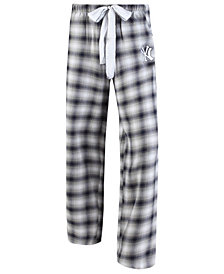 Concepts Sport Women's New York Yankees Forge Flannel Pants