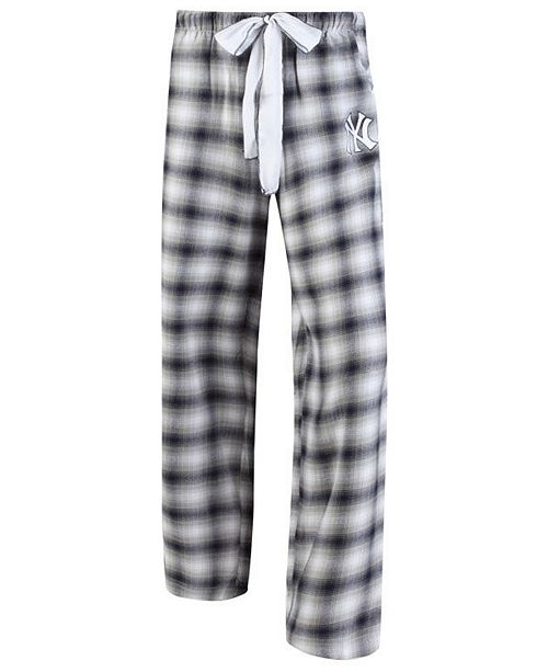 2444a6b5497 Concepts Sport Women s New York Yankees Forge Flannel Pants - Sports ...