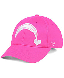 '47 Brand Girls' Los Angeles Chargers Sugar Sweet MVP Cap
