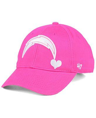 '47 Brand Girls' Los Angeles Chargers Sugar Sweet MVP Cap