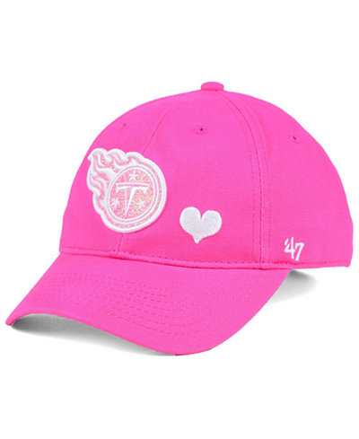 '47 Brand Girls' Tennessee Titans Sugar Sweet MVP Cap