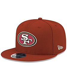 San Francisco 49ers Team Color Basic 9FIFTY Snapback Cap