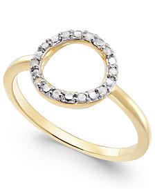 Diamond Circle Ring (1/10 ct. t.w.)