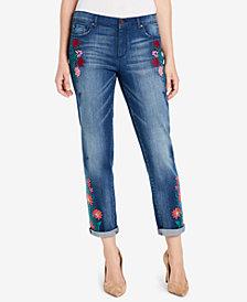 Vintage America Cotton Wonderland Embroidered Jeans