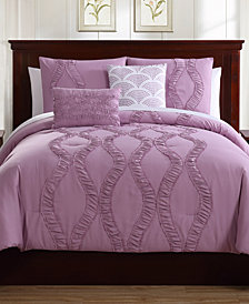Megan 5-Pc. Queen Comforter Set