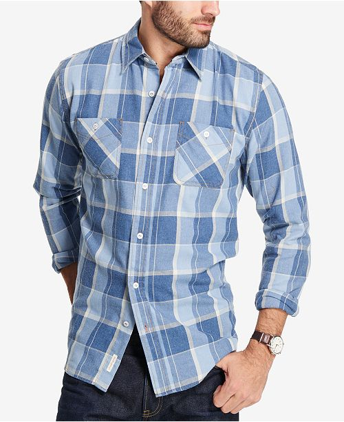 Weatherproof Vintage Men S Plaid Flannel Shirt Reviews Casual