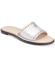 Cole Haan Anica Stud Slip-On Flat Sandals