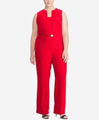Lauren Ralph Lauren Plus Size Jumpsuit Dresses Plus Sizes Macys