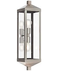 Livex Nyack 2-Light Outdoor Wall Lantern