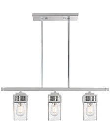 Livex Harding 3-Light Linear Chandelier