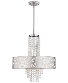 Livex Allendale 4-Light Pendant Chandelier