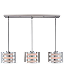 Livex Hilliard 3-Light Linear Pendant